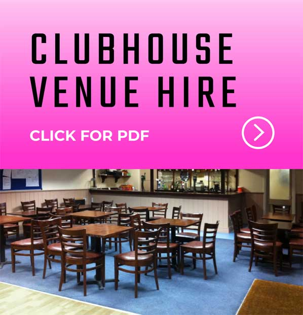 Clubhouse Venue Hire